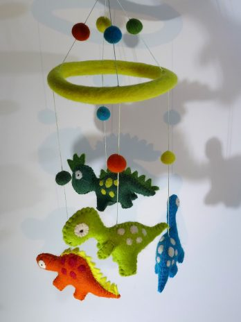"Baby Mobile ""Dinos"""