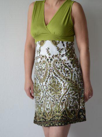 "Sommerkleid ""Paisley"" grün, Größe S"