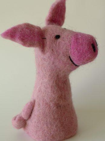 Filz-Eierwärmer Schweinchen