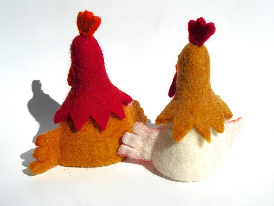 Huhn-aus-Filz-Tilda
