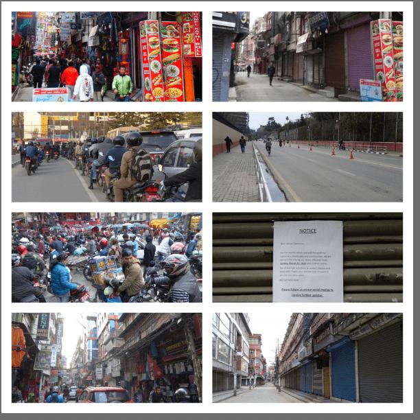 Lockdown Kathmandu